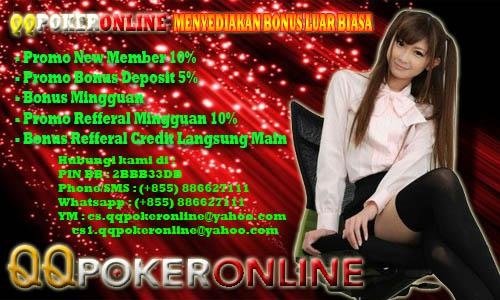 Situs Poker Pelayanan Bagus Banyak Bonus