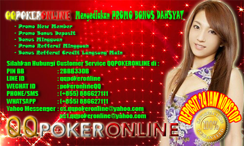 PROMO BONUS LIVE POKER DOMINO CEME ONLINE
