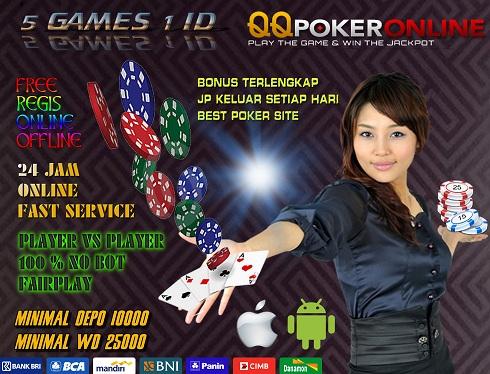 Situs Taruhan Judi Casino Online QQ Poker Online