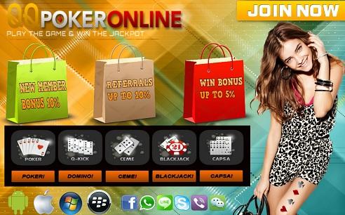 Usaha Online Tanpa Modal Dengan Refferal QQPokerOnline