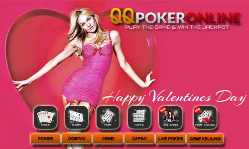 Situs 99 Poker Online Indonesia Promo Bonus Valentine 2017