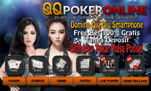 Free Bet Poker Online Indonesia Tanpa Deposit 100% Gratis