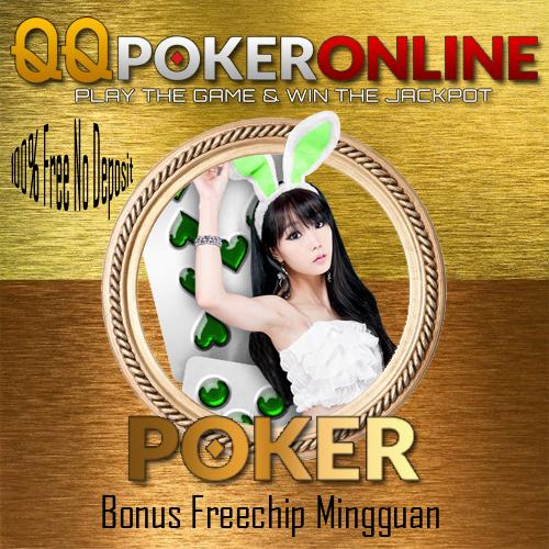Bonus Freechip Poker Mingguan Member Aktif