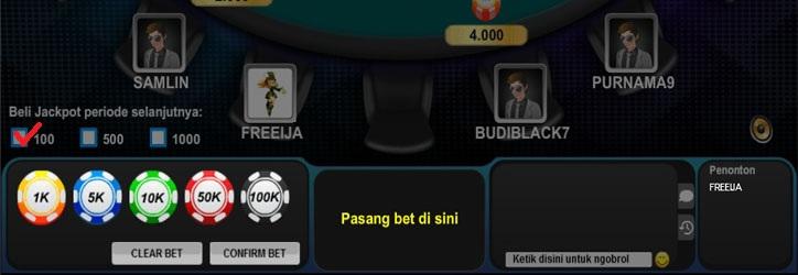 cara beli jackpot di poker online