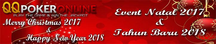 Event Dual Promo Natal Dan Tahun Baru 2018 Poker Online