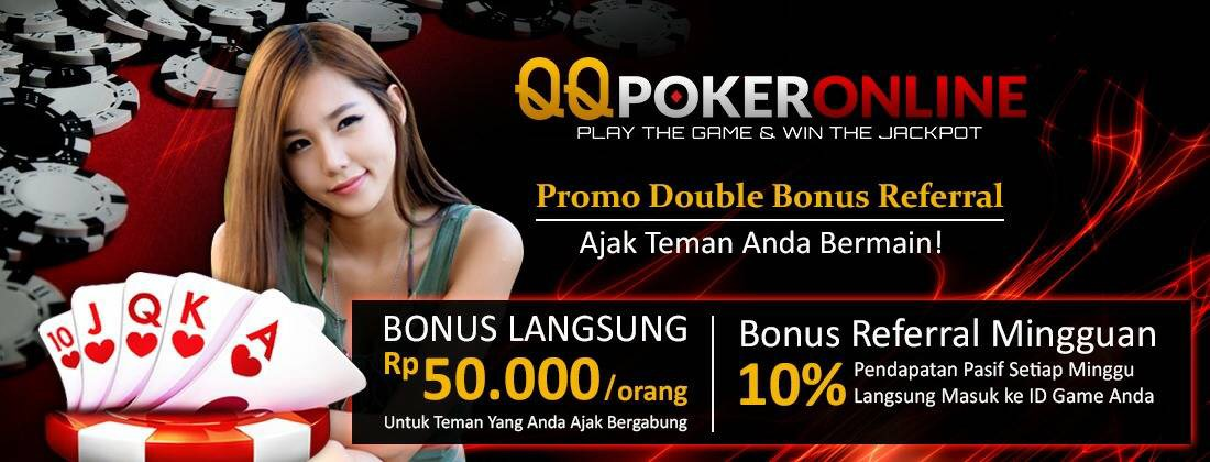bonus qqpokeronline
